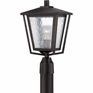 Quoizel ALF9010IB Alfresco Traditional Imperial Bronze Finish 16.5  Tall Exterior Post Lighting