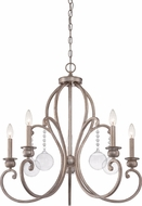 Quoizel AMB5005VG Ambrose Vintage Gold Chandelier Light