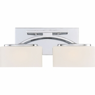 Quoizel ARC8602CLED Arch Modern Polished Chrome LED 2-Light Bathroom Light