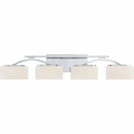 Quoizel ARC8604CLED Arch Modern Polished Chrome LED 4-Light Vanity Lighting