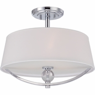 Quoizel ARH1717C Aldrich Modern Polished Chrome Finish 14.5  Tall Ceiling Lighting