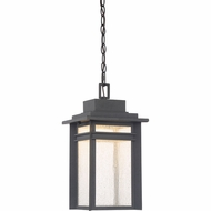 Quoizel BEC1909SBK Beacon Stone Black LED Outdoor Pendant Light