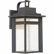 Quoizel BEC8409SBK Beacon Stone Black LED Exterior 9  Wall Lighting