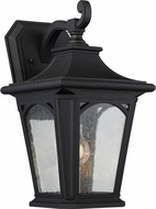 Quoizel BFD8408KFL Bedford Mystic Black Fluorescent Exterior Lighting Sconce