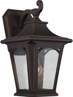 Quoizel BFD8408PNFL Bedford Palladian Bronze Fluorescent Exterior Wall Sconce Lighting