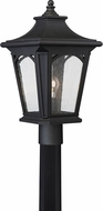 Quoizel BFD9010KFL Bedford Mystic Black Fluorescent Exterior Post Lamp