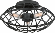 Quoizel BND1613BA Bound Modern Royal Ebony Ceiling Lighting