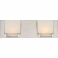 Quoizel BNN8602BNLED Banner Contemporary Brushed Nickel LED 2-Light Vanity Light