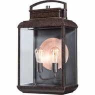 Quoizel BRN8412IB Byron Vintage Imperial Bronze Finish 12  Wide Exterior Wall Sconce