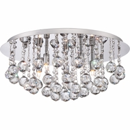 Quoizel BRX1619C Bordeaux Polished Chrome Finish 19.5  Wide Xenon Ceiling Lighting Fixture