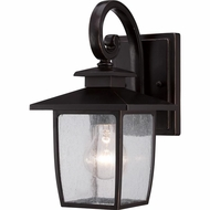 Quoizel BRY8406PN Bradley Traditional Palladian Bronze Finish 6.5  Wide Exterior Wall Lamp