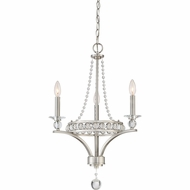 Quoizel BWS5303BN Brightwaters Brushed Nickel Mini Lighting Chandelier