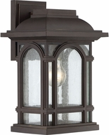 Quoizel CAT8409PN Cathedral Palladian Bronze Outdoor 9.5  Wall Light Fixture
