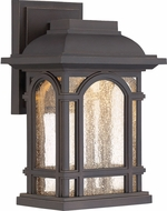 Quoizel CATL8407PN Cathedral LED Palladian Bronze LED Outdoor 7.5  Wall Lighting Sconce
