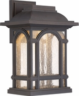 Quoizel CATL8409PN Cathedral LED Palladian Bronze LED Exterior 9.5  Wall Sconce Lighting