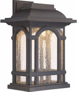 Quoizel CATL8411PN Cathedral LED Palladian Bronze LED Outdoor 11.5  Wall Mounted Lamp