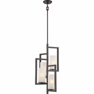 Quoizel CBA5204WT Cambria Contemporary Western Bronze Entryway Light Fixture