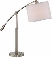 Quoizel CFT6330BN Clift Brushed Nickel Table Lamp