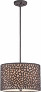 Quoizel CKCF2816RK Confetti Modern Rustic Black Home Ceiling Lighting