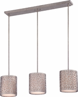 Quoizel CKCF339OS Confetti Modern Old Silver Multi Drop Lighting