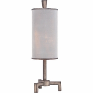 Quoizel CKLW1731T Longview Contemporary 11  Wide Table Lamp