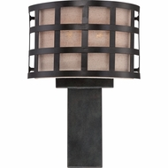 Quoizel CKMS8801TM Marisol Teco Marrone Finish 16  Tall Wall Light Fixture