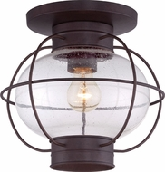 Quoizel COR1611CU Cooper Vintage Copper Bronze Outdoor Ceiling Light Fixture