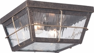 Quoizel CTD1612IBFL Cortland Traditional Imperial Bronze Fluorescent Exterior Flush Lighting