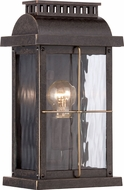 Quoizel CTD8407IBFL Cortland Traditional Imperial Bronze Fluorescent Exterior Lamp Sconce
