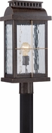 Quoizel CTD9010IBFL Cortland Traditional Imperial Bronze Fluorescent Exterior Post Lamp