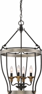 Quoizel CTH5204AN Castle Hill Antique Nickel Foyer Light Fixture
