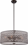 Quoizel CTN2822IB Catherine Imperial Bronze Drum Drop Lighting Fixture