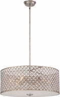 Quoizel CTN2822VG Catherine Vintage Gold Drum Pendant Lighting