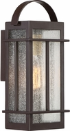 Quoizel CVW8406WT Crestview Western Bronze Outdoor 5.75  Wall Light Sconce