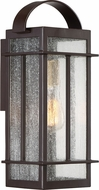 Quoizel CVW8407WTFL Crestview Western Bronze Fluorescent Outdoor 6.75  Wall Light Sconce