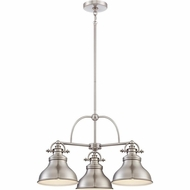 Quoizel ER5103BN Emery Vintage Brushed Nickel Finish 24  Wide Mini Chandelier Light