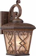 Quoizel FQ8407AW Fort Quinn Traditional Antique Brown Outdoor Wall Sconce Lighting