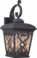 Quoizel FQ8411MK Fort Quinn Traditional Marcado Black Exterior Sconce Lighting