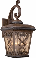 Quoizel FQ8414AW Fort Quinn Traditional Antique Brown Outdoor Light Sconce