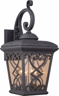 Quoizel FQ8414MK Fort Quinn Traditional Marcado Black Exterior Lighting Sconce