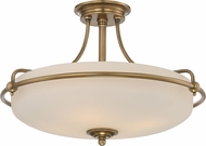Quoizel GF1721WS Griffin Weathered Brass Home Ceiling Lighting