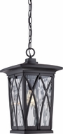 Quoizel GVR1910K Grover Traditional Mystic Black Outdoor Pendant Light