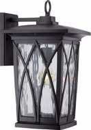 Quoizel GVR8410KFL Grover Traditional Mystic Black Fluorescent Exterior Wall Sconce Lighting