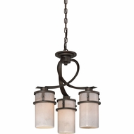 Quoizel KY5503IN Kyle Iron Gate Mini Chandelier Light