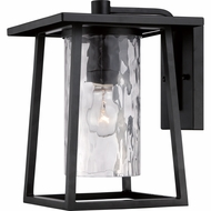 Quoizel LDG8409K Lodge Mystic Black Finish 12.5  Tall Exterior Wall Sconce