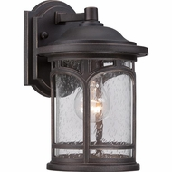 Quoizel MBH8407PN Marblehead Traditional Palladian Bronze Finish 7  Wide Exterior Lighting Sconce
