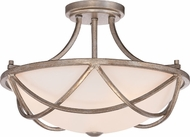 Quoizel MBK1716VG Milbank Vintage Gold Flush Mount Lighting