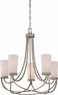 Quoizel MBK5005VG Milbank Vintage Gold Lighting Chandelier