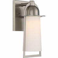Quoizel MBU8407SS Malibu Modern Stainless Steel LED Outdoor 6  Lamp Sconce