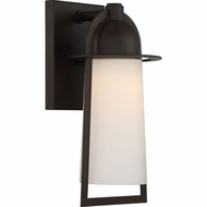 Quoizel MBU8407WT Malibu Contemporary Western Bronze LED Exterior 6  Wall Sconce Lighting